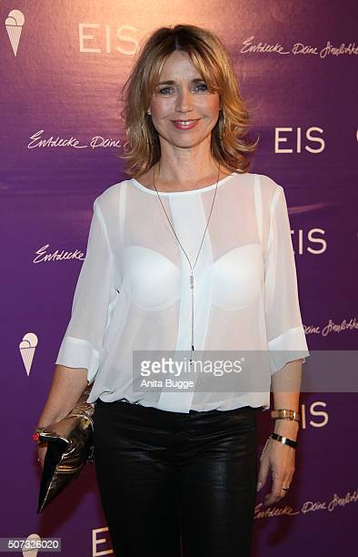 Tina Ruland attends the EIS Party at Soho Hotel on January 28 2016 in Berlin Germany