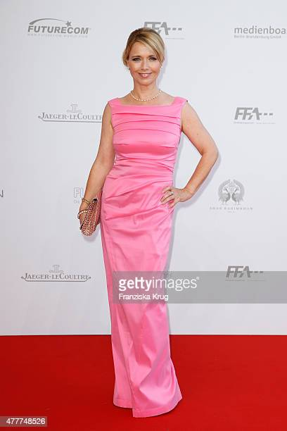 Tina Ruland attends the German Film Award 2015 Lola at Messe Berlin on June 19, 2015 in Berlin, Germany.
