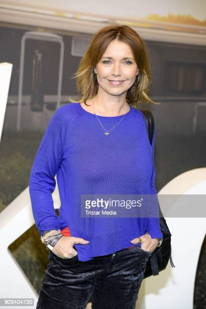 Tina Ruland attends the 'Pastewka' premiere at Kino International on January 23 2018 in Berlin Germany
