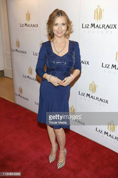 Tina Ruland during the Liz Malraux Fashion Show Masterpieces Of Fashion Art on March 8 2019 in Hamburg Germany