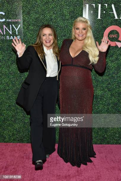 c5d252e12f2b24 Tina Simpson and Fashion Icon Award Honoree Jessica Simpson attend the 25th  Annual QVC  FFANY. 25th Annual QVC Presents  FFANY Shoes On Sale  Gala