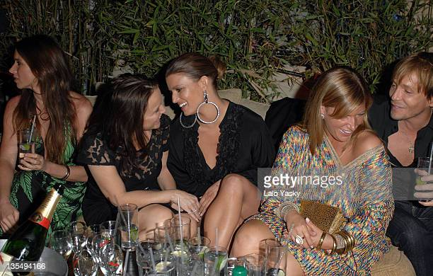 Tina Simpson and Jessica Simpson during 2007 Cannes Film Festival - In the Hands of Gods Nike Party at Century Club in Cannes, France.