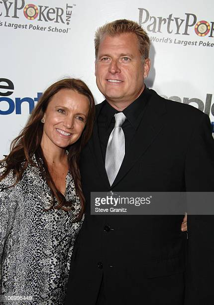 """Tina Simpson and Joe Simpson during """"Employee of the Month"""" Premiere - Arrivals at Mann's Chinese Theater in Hollywood, California, United States."""