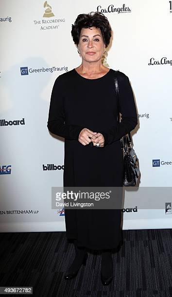 Tina Sinatra attends the Architects of Sound Frank Sinatra at Club Nokia on October 21 2015 in Los Angeles California
