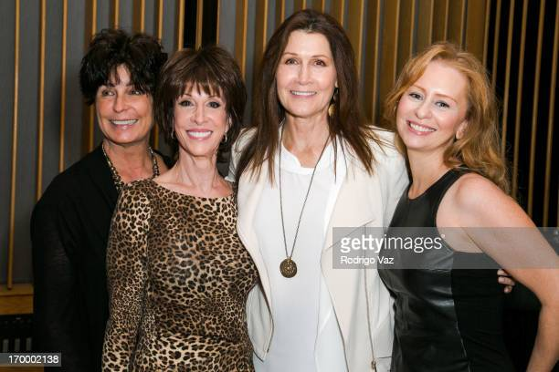 Tina Sinatra Deana Martin Monica Mancini and Daisy Torme attend Tina Sinatra's Father's Day Special on SiriusXM's Siriusly Sinatra channel at Capitol...