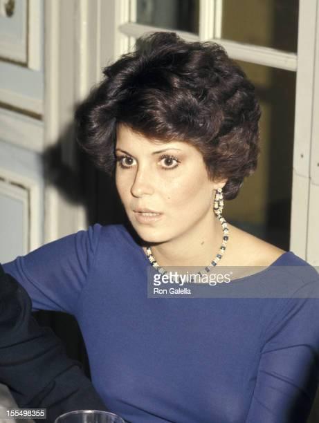 Tina Sinatra during Tina Sinatra File Photo California United States