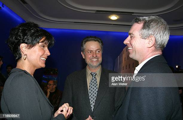 Tina Sinatra producer Jonathan Demme director and Paul McLaughlin Lead singer of 1980's band The Prats whose record was played in the opening...