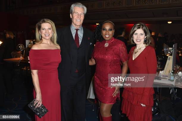 Tina Stephan Macy's Inc Chairman and CEO Terry J Lundgren Star Jones and American Heart Association CEO Nancy Brown attend the American Heart...