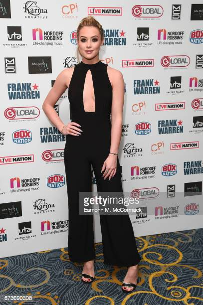 Tina Stinnes arriving at The Nordoff Robbins Championship Boxing dinner held at London Hilton on November 13 2017 in London England