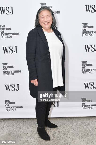 b28f23a7bb9de Tina Tchen attends WSJ The Future of Everything Festival at Spring Studios  on May 10 2018