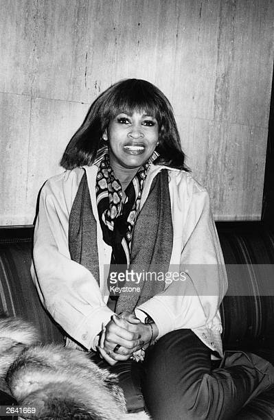 Tina Turner American pop and soul singer pictured prior to her first appearance as a solo artist in London