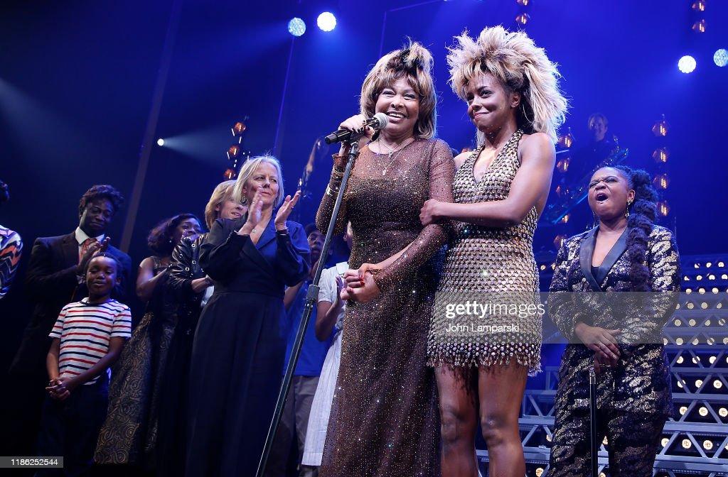"""""""Tina - The Tina Turner Musical"""" Opening Night : News Photo"""