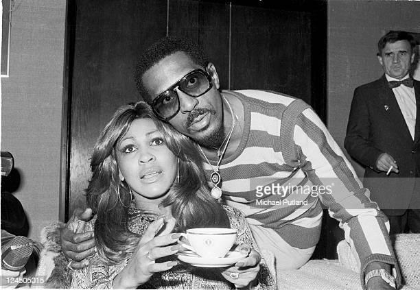 Tina Turner and Ike Turner, portrait, London, October 1975.
