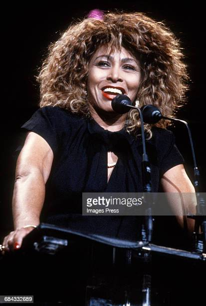 Tina Turner attends the 1989 Rock N Roll Hall of Fame Induction Ceremony circa 1989 in New York City.
