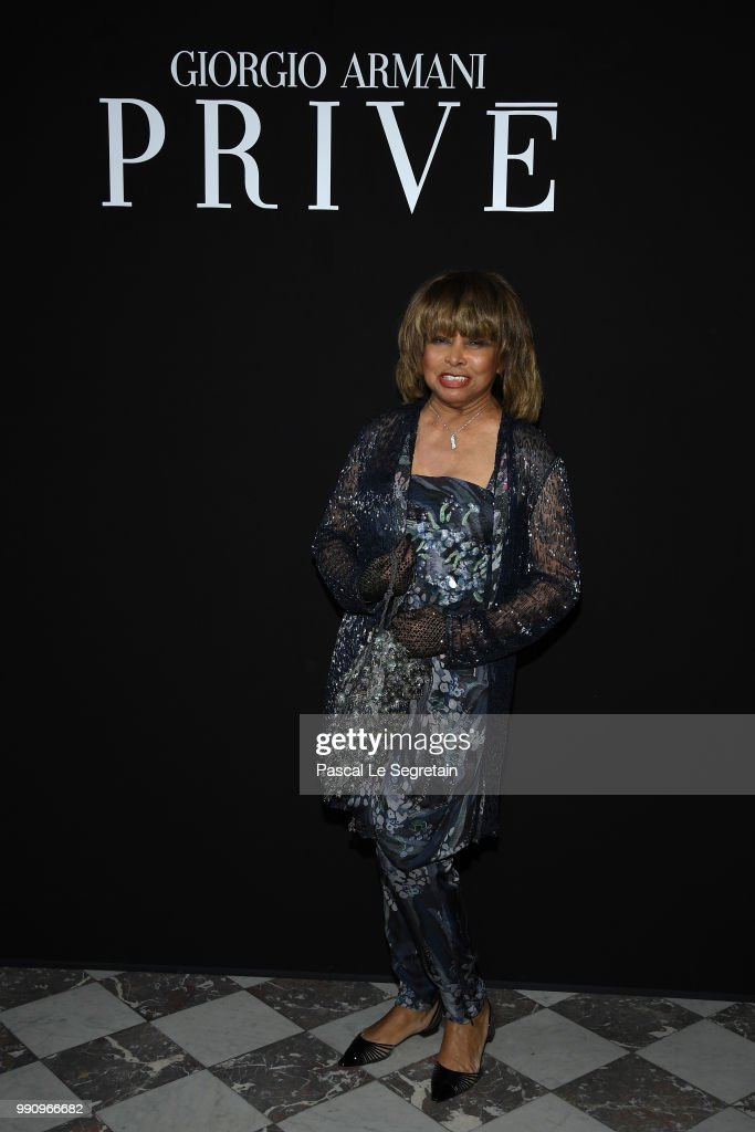 Giorgio Armani Prive : Front Row - Paris Fashion Week - Haute Couture Fall Winter 2018/2019