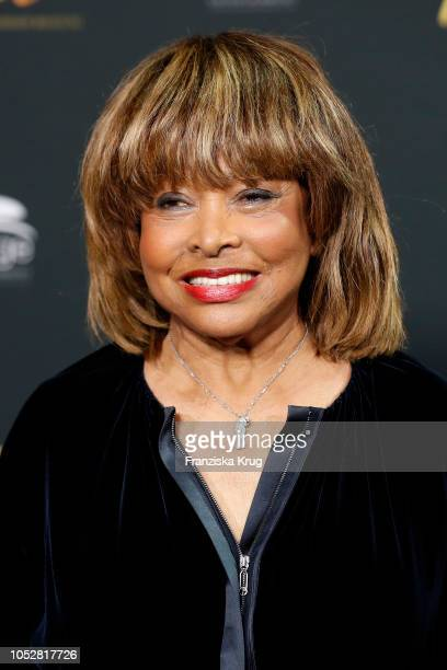 Tina Turner during a photo call for the musical 'Tina Das Tina Turner Musical' at Mojo Club on October 23 2018 in Hamburg Germany