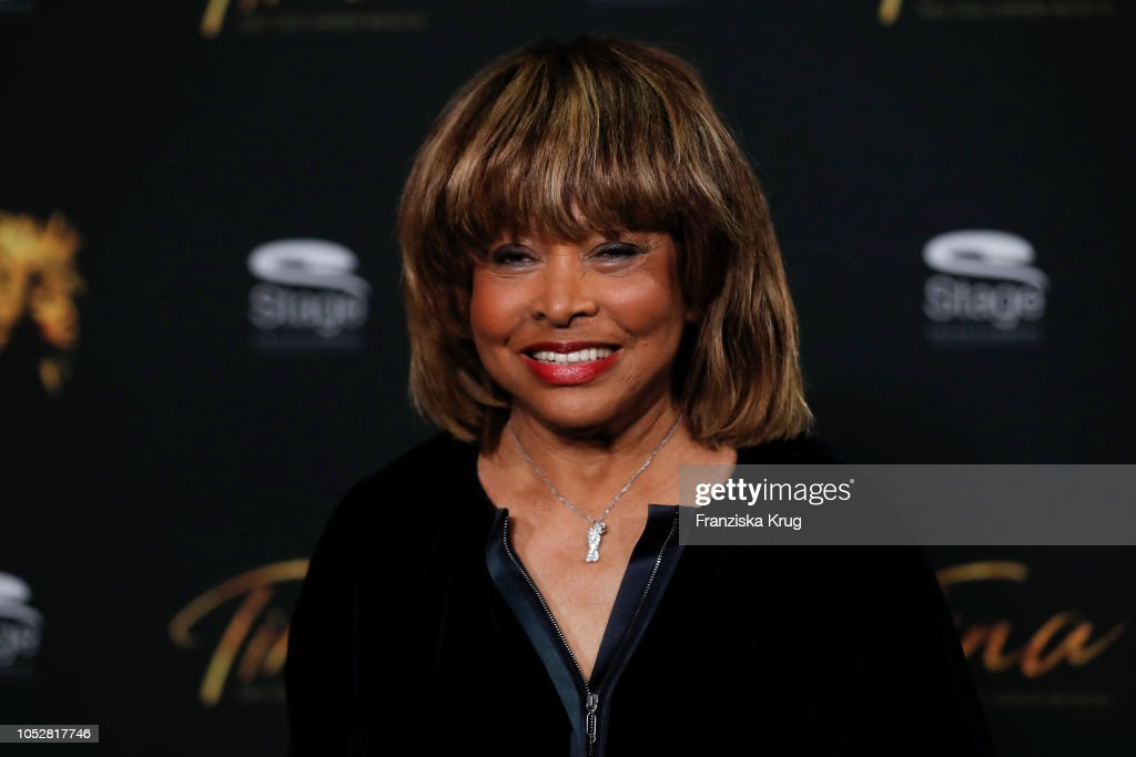 Tina Turner Presents Main Cast For 'TINA - Das Tina Turner Musical' In Hamburg : News Photo
