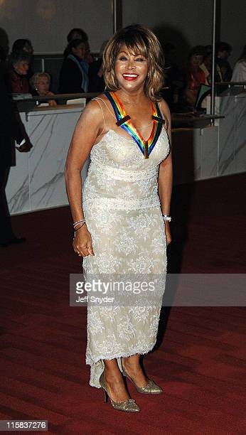 Tina Turner during The 28th Annual Kennedy Center Honors - Arrivals at The Kennedy Center for the Perfoming Arts in Washington D.C., -, United States.
