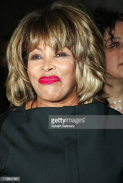 Tina Turner during The Color Purple Opening on Broadway at Broadway Theater in New York New York United States