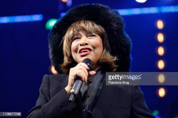 Tina Turner during the premiere of the musical 'Tina Das Tina Turner Musical' at Stage Operettenhaus on March 3 2019 in Hamburg Germany
