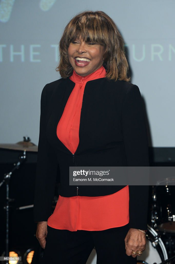 Tina Turner during the 'TINA: The Tina Turner Musical' photocall at Aldwych Theatre on October 17, 2017 in London, England.