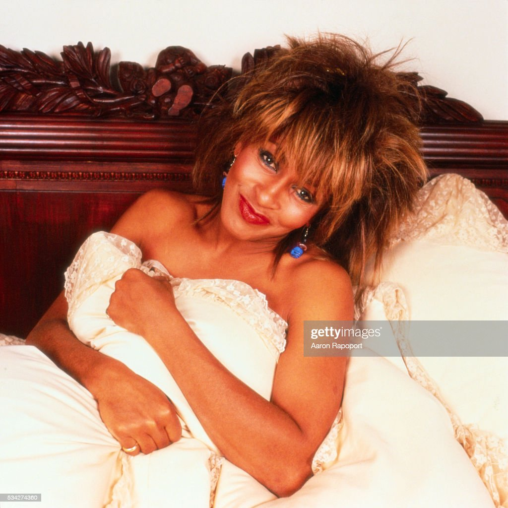 Tina Turner in a Bed