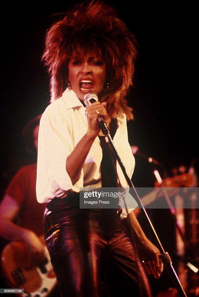 Tina Turner in concert... : News Photo
