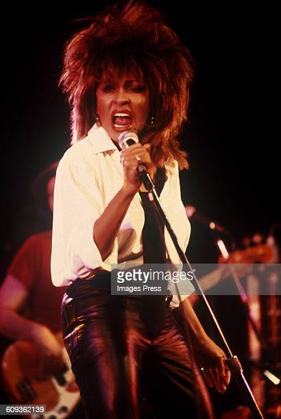 Tina Turner in concert circa 1984 in New York City