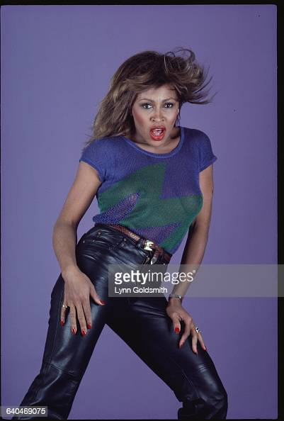 tina turner in leather pants news photo
