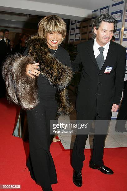 Tina Turner, Lebensgefährte Erwin Bach, Verleihung des Deutschen Medienpreises, Baden-Baden, , Gala, Fest, Verleihung, Ehrung, Deutscher Medienpreis,...