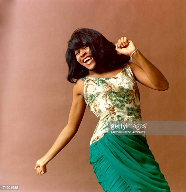 Tina Turner of the husband-and-wife R&B duo Ike & Tina Turner poses for a portrait in 1964.