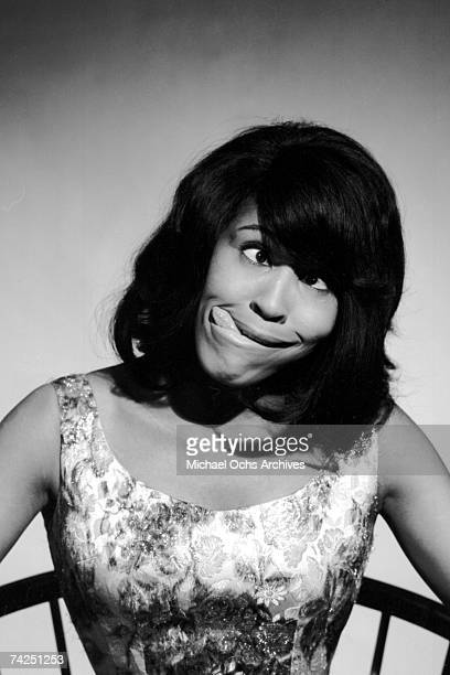 Tina Turner of the husbandandwife RB duo Ike Tina Turner poses for a portrait in 1964 in Dallas Texas