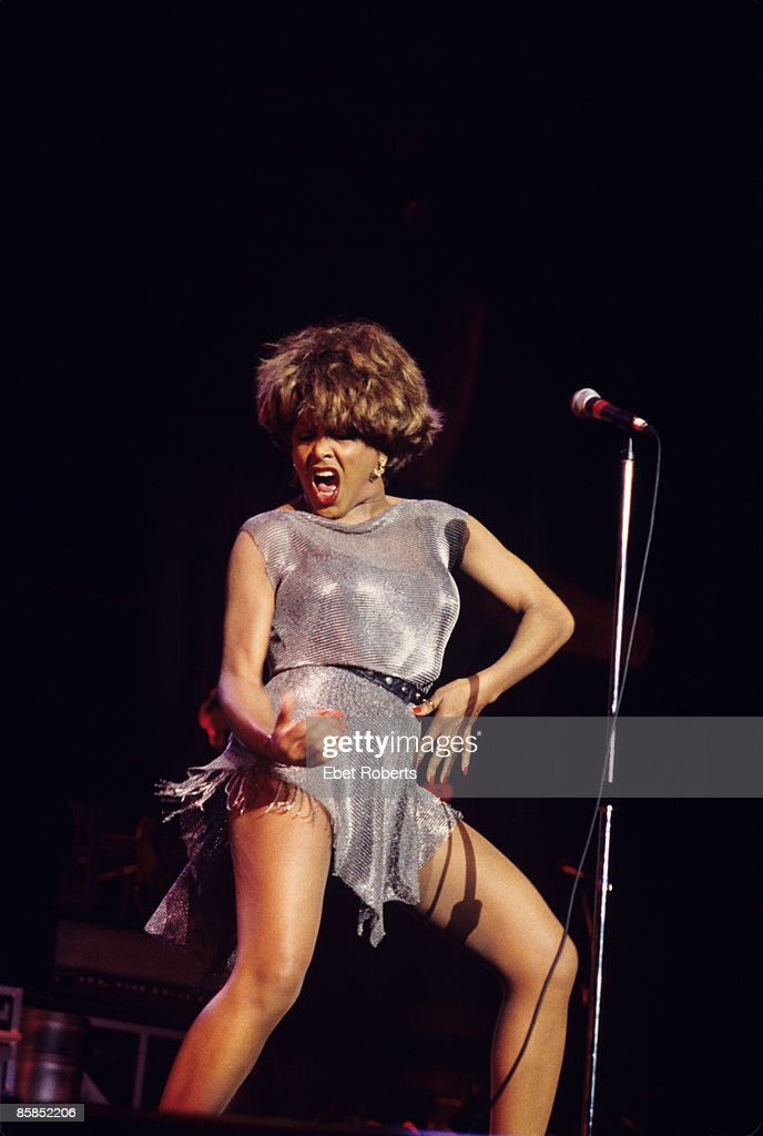 HOLMDEL Photo of Tina TURNER, Tina Turner performing on stage at the Garden State Arts Center