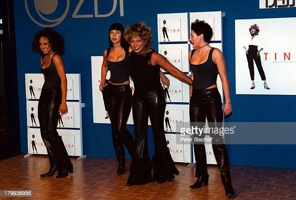Tina Turner Twenty Four Seven MilleniumTour 2000 Dorint Hotel SchweizerHof Pressekonferenz Berlin Deutschland EuropaBackgroundsängerinnen...