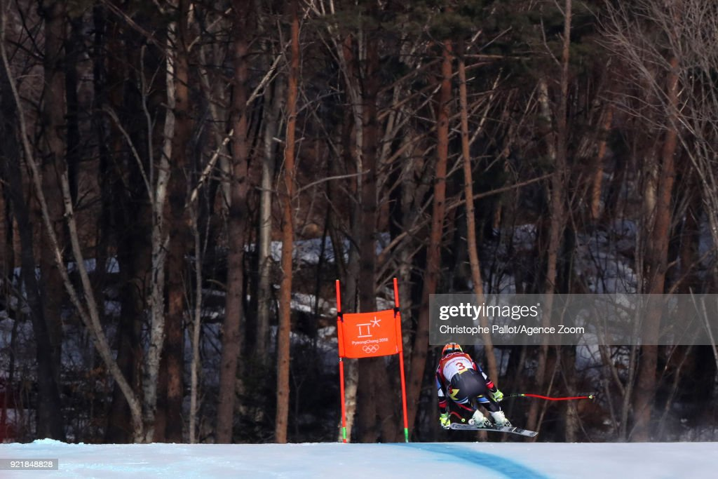 Alpine Skiing - Winter Olympics Day 12 : News Photo