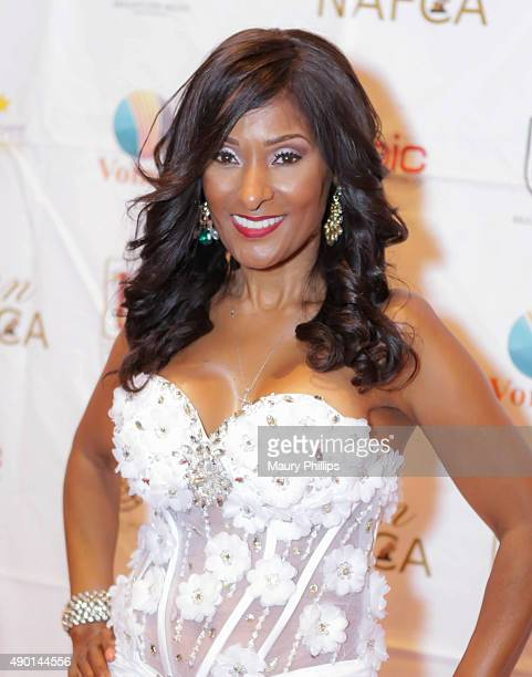 Tina Weisinger Co Executive Producer NAFCA attends the 5th Annual African Critics Awards at the Orpheum Theatre on September 12 2015 in Los Angeles...