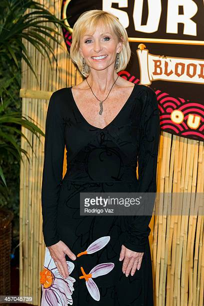 Tina Wesson attends Survivor Blood Vs Water Season Finale at CBS Television City on December 15 2013 in Los Angeles California