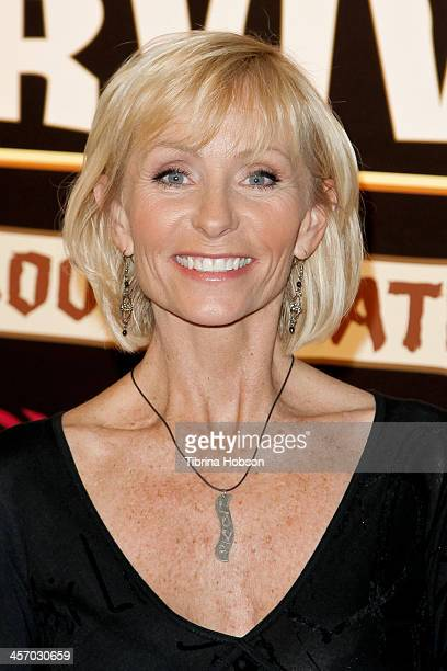 Tina Wesson attends the 'Survivor Blood Vs Water' season finale at CBS Television City on December 15 2013 in Los Angeles California