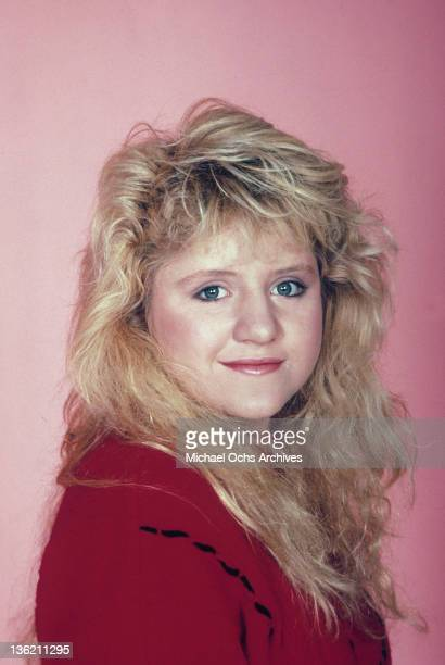 Tina Yothers publicity portrait from the television series 'Family Ties' 1987