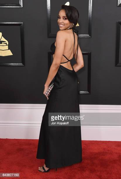 Tinashe arrives at the 59th GRAMMY Awards at the Staples Center on February 12 2017 in Los Angeles California