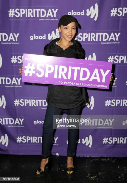 Tinashe at Justin Tranter And GLAAD Present 'Believer' Spirit Day Concert at Sayer's Club on October 18 2017 in Los Angeles California