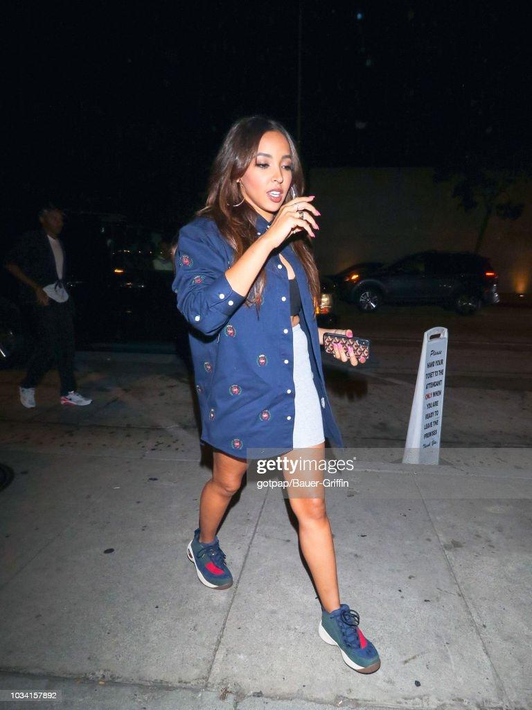 dd61669d1e3 Celebrity Sightings In Los Angeles - September 15, 2018 : News Photo