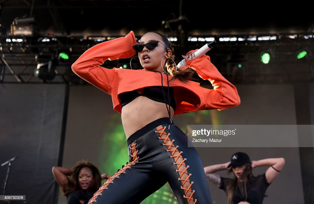 Tinashe performs at 2017 Billboard HOT 100 Music Festival at Northwell Health at Jones Beach Theater on August 19, 2017 in Wantagh, New York.
