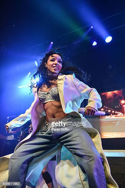Tinashe performs at Joyride World Tour at Center Stage on March 19 2016 in Atlanta Georgia
