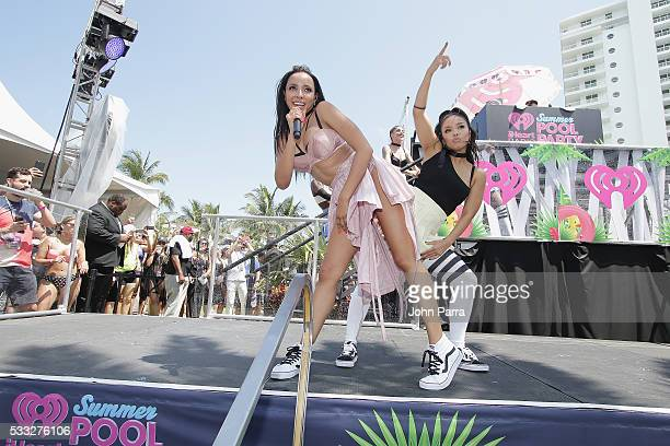 Tinashe performs at the Daytime 2016 iHeartRadio Summer Pool Party at Fountainbleau Miami Beach on May 21 2016 in Miami Beach Florida