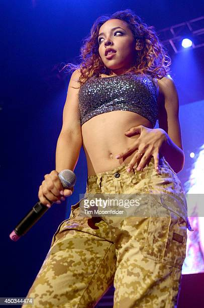 Tinashe performs during the 106 KMEL Summer Jam at Oracle Arena on June 8 2014 in Oakland California