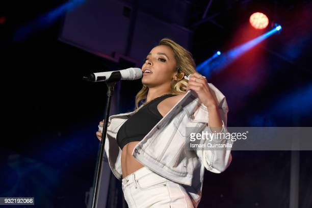 Tinashe performs onstage at Pandora during SXSW at The Gatsby on March 14 2018 in Austin Texas