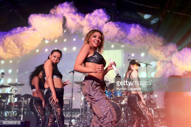 Tinashe performs onstage at Sony Event during SXSW at Trinity Warehouse on March 15 2018 in Austin Texas