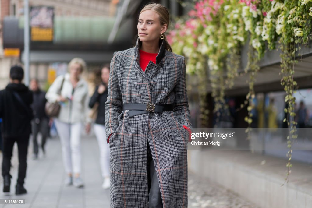 c0c84e22d3a8 Street Style - Day 2 - Stockholm Fashion week Spring  Summer 2018   News  Photo
