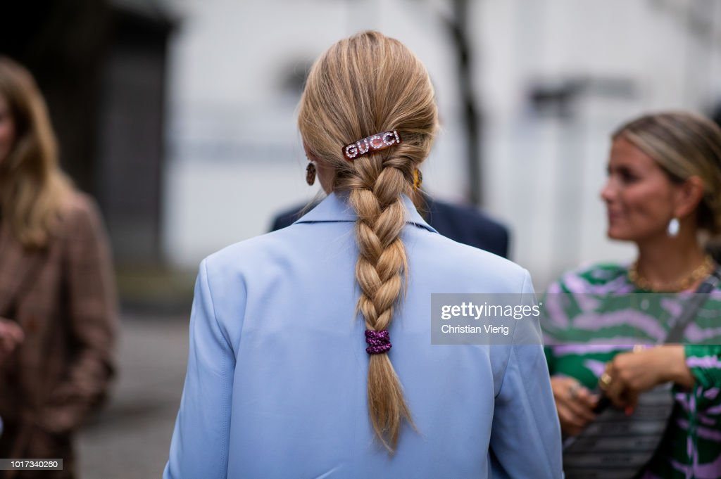 Street Style - Oslo Runway SS19 : Photo d'actualité